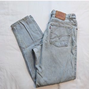 Vintage Levi 550 Relaxed Fit Tapered Leg